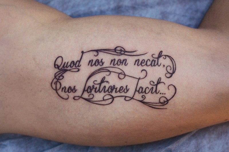 Что есть истина тату на латыни